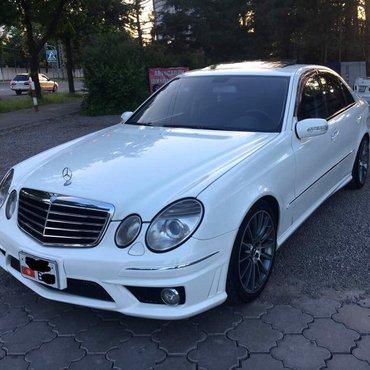 Е500 . 5.0 , обвес 6.3 AMG , авто из Японии!  в Бишкек