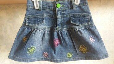Продаю детскую джинсывую юбку на 1,2,3  в Бишкек