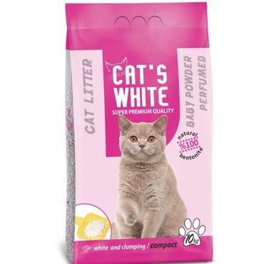 Bakı şəhərində Cats white qumlar 5kg-7 azn 10kg 13 azn 20 kg 22 azn