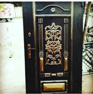 Белые двери - Азербайджан: Сейфовый дверь 1кв 400-азн
