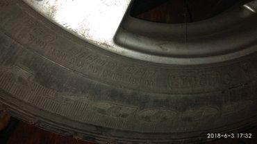 Продаю диски сзимней резиной на Bmw R16/205/60 в Кара-Балта