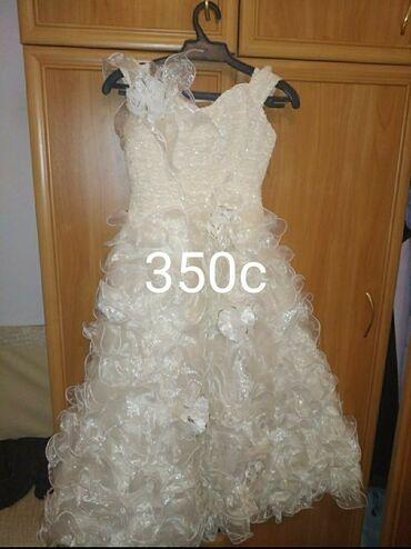 Очень красивая нарядная платье на девочку 13-14 лет в отличном