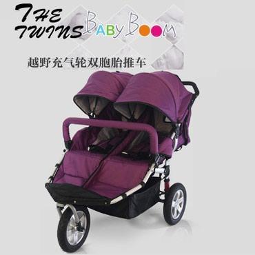 BabyBoom Коляска для двойни. в Бишкек