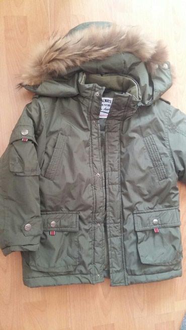 Bakı şəhərində Куртка на 7 лет состояние хорошее утепленное, зимняя
