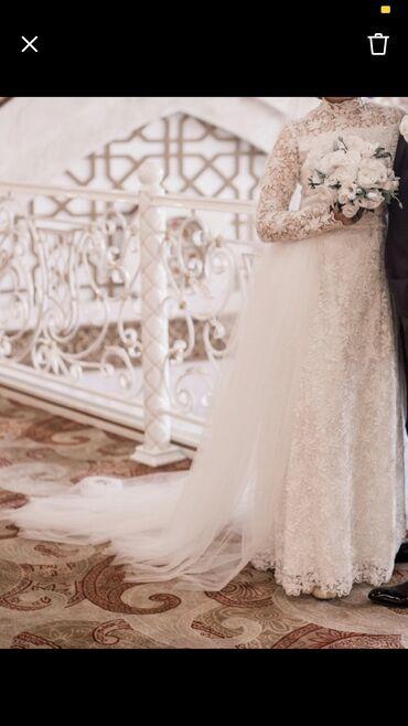 Продаю свадебное платье размер 46-48, сшито на заказ индивидуально