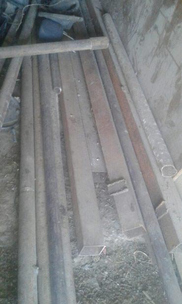 трубы.стойки стройматериалы б у  в Бишкек