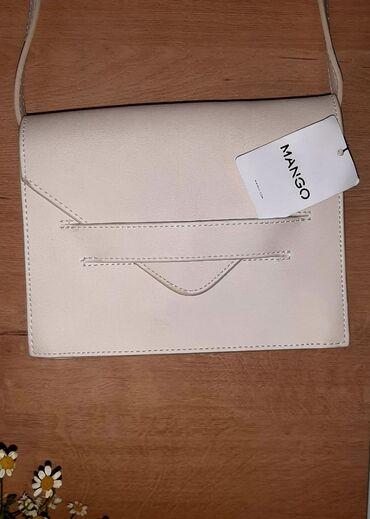 Личные вещи - Орто-Сай: Сумочка cross body от бренда MANGO.Цвет: бежевыйРазмер:20×16ЦЕНА: 2