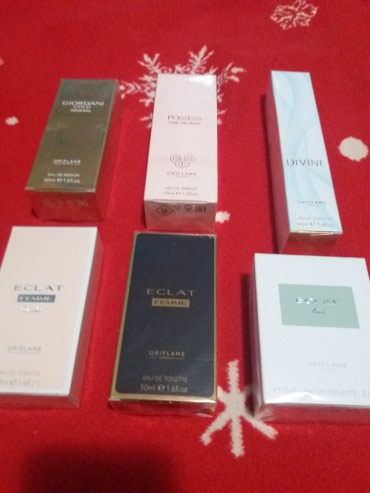 Novi parfemi ženski i muški. Svi su u celofanu. ORIFLAME. Neki su - Belgrade