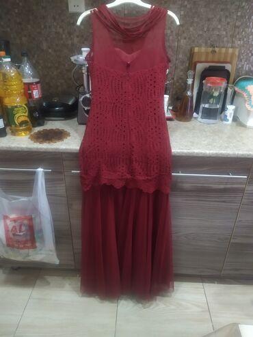 sarı çimərlik geyimləri - Azərbaycan: Leydi Sarimnan paltar bir defe toya giydim raz 36 38 100 azn