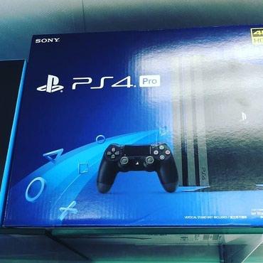 Bakı şəhərində Sony PlayStation 4 Pro model 1 tb 4k hd. Tam bağlı upokovkada