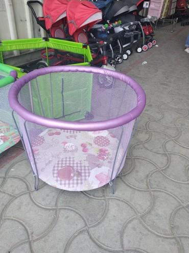 Продаю манеж круглыйцвета разныедиаметр 80 смвысота. 54 смцена 2200