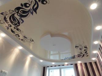 Натяжной потолок с работой недорого  Профессионалы монтажники осущес