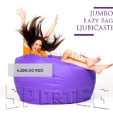 Lejzi beg - Srbija: Jumbo Lazy Bag (Lejzi Beg)BESPLATNA dostava za NOVI SADjumbo lazy bag
