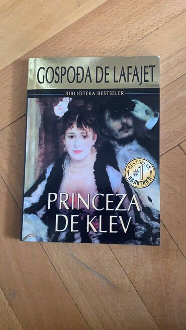 Knjige, časopisi, CD i DVD | Kikinda: Nova knjiga Princeza de Klev 100din