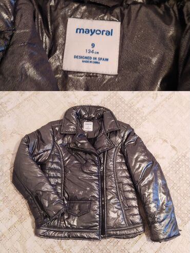 Новая деми куртка,размер не подошел.на рост 128-134см.примерно на