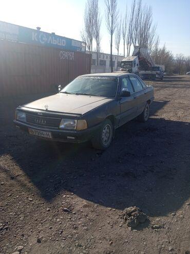переходка в Кыргызстан: Audi A3 2 л. 1989