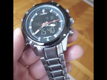 Bakı şəhərində Kişi Gümüşü Klassik Qol saatı