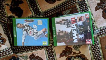 Продаю Fifa19 и Mafia3 на Xbox one диски как новые играли всего два ра