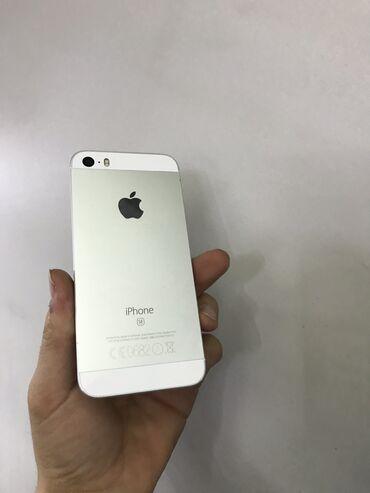 Электроника - Кочкор: Б/У iPhone SE 64 ГБ Серебристый