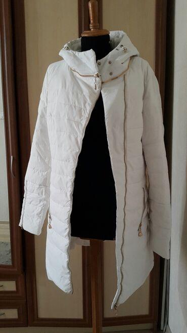 Куртки - Кыргызстан: Натуральный пуховик, новый, размер 48-50. Покупала в три раза раза