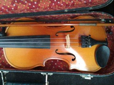 Скрипки в Кыргызстан: Продаю детскую скрипку. Размер 4/4 (59.5см) производство: СССР