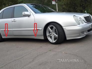 Продаю Заглушки место домкрат Е class w210. в Душанбе