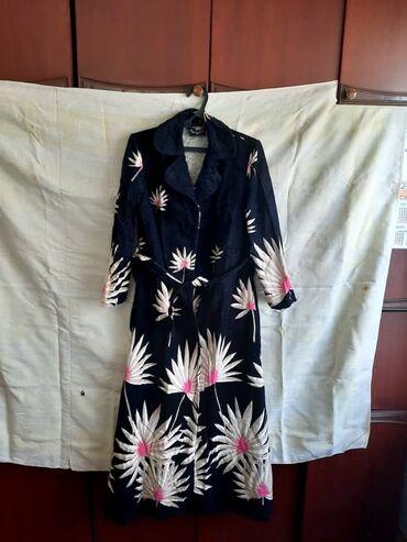 женское платье халат в Кыргызстан: Женский халат 2 (Германия)  Размер-46/48 (новый)  Цена-1300 сом Тел.