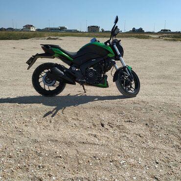 Motosiklet və mopedlər - Azərbaycan: Bajaj dominar restaylig 400 kridit yoxdu barter ederem 125/250 kub ile
