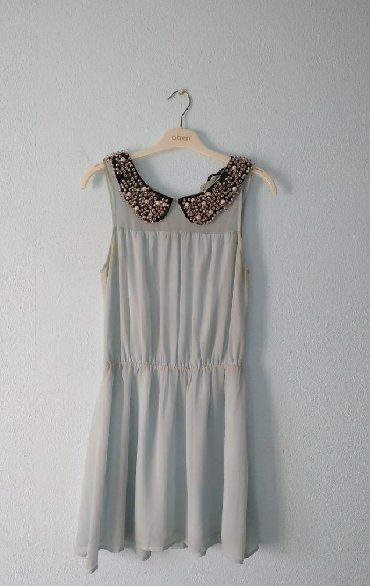 вязаное голубое платье в Кыргызстан: Милое платье нежно голубого цвета