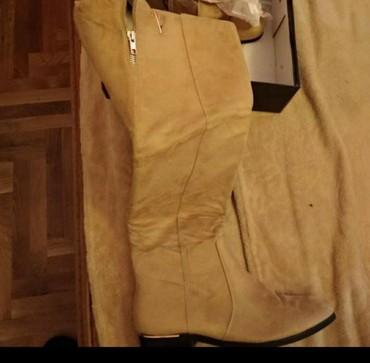 Cizme antilop br.39  NOVE zenske preko kolena i  NOVE, SNIZENE  br.39 - Pancevo