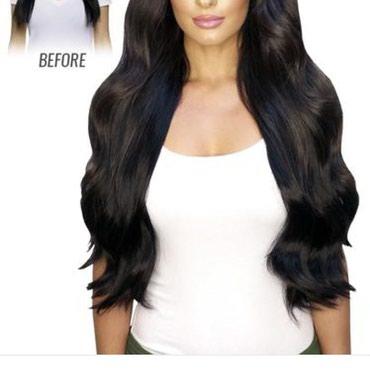 Umetak za kosu na klipse. U svim bojama. Kosa je poluprirodna i veoma - Vrsac