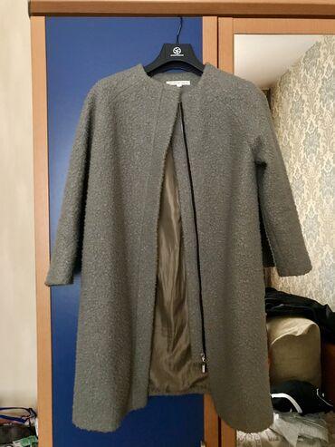 Зелёное пальто - 1000 сом В хорошем состоянии