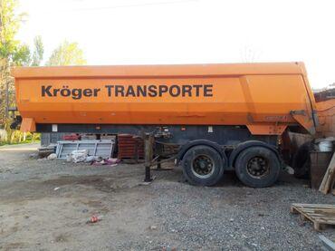 Прицепы - Бишкек: Срочно продаю прицеп тонар кузов алюминиевый в идеальном состоянии св
