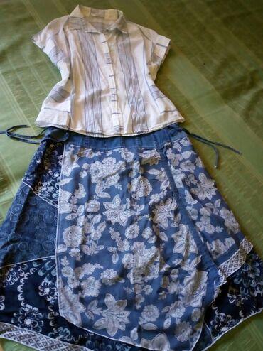 Haljine   Bogatic: Suknja u j mbinaciji sa prelepom kosuljom. Imate dve kosulje u n