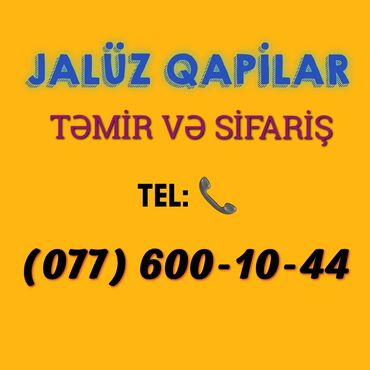 jaluz qapilar - Azərbaycan: Jaluz qapilar