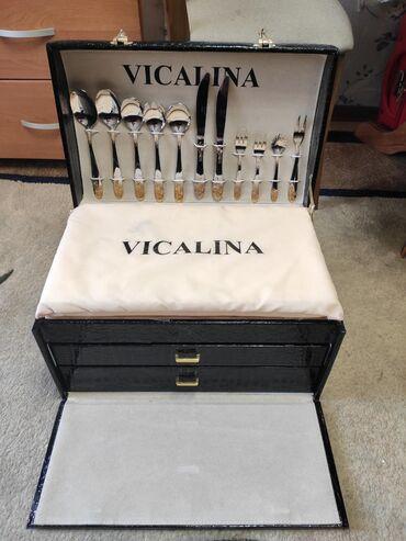 vicalina-бишкек в Кыргызстан: Продаю набор столовых приборов (VICALINA) 90 приборов, на 12 персон