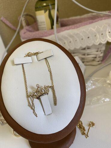 Браслеты - Б/у - Бишкек: Браслет 585 проба желтое золото 18 см 1.8 гр