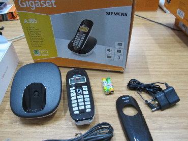 besprovodnoi telefon gigaset в Азербайджан: Gigaset A385Заменены аккумуляторы. Обновлено ПО. На устройстве имеются