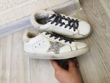 спортивне обувь в Кыргызстан: Листаем >>> Натуральная кожа размер 37  Зимние,с натуральным