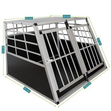 Nov fabricki kavez za pse sa dvoje vrata. - Vrsac