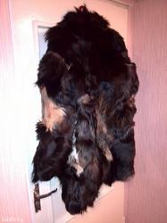 Новая шуба из собачьего меха, теплая, в Бишкек