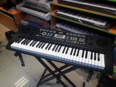 Sintezator Pianino yeni keyfiyyətli model Flas kartlı mikrafonlu