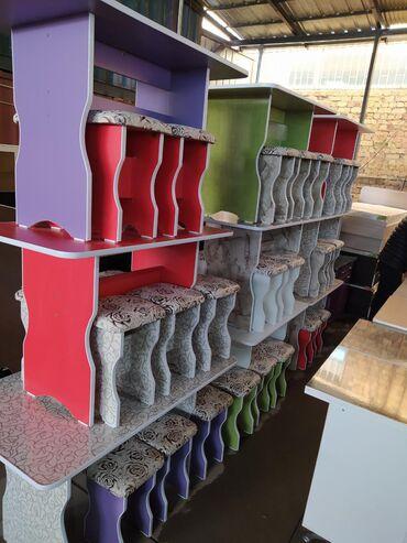 Комплекты столов и стульев в Кыргызстан: Кухонный столПродаю новые кухонные столы с табуреткамиСтол 110см*65см
