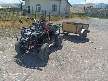 Транспорт - Кызыл-Туу: Квадроцикл 150 куб автомат прицепом все работает паварот сигнал фара 8