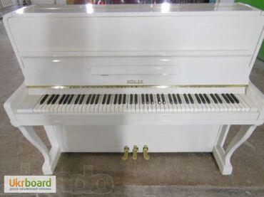пианино-чайка в Кыргызстан: Белое фортепиано, инструмент высокого класса, который не требует рекл