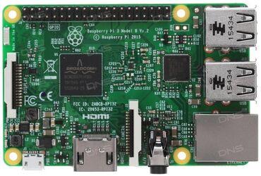 Raspberry pi 3B  В комплекте разбери + корпус + флешка 10 класса 8гб