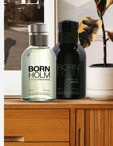 Born Holm qalıcı parfum suyu(kişi üçün)