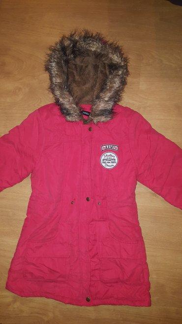 Zimska jakna parka sa krznom vel.  S / M - Prokuplje