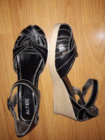 Kozne sandale,vel.39,duz.gazista 25 cm,obuvene par puta - Smederevo