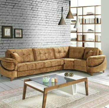 Bakı şəhərində Kunc divan,Fabrik istehsali,acilan bazali.